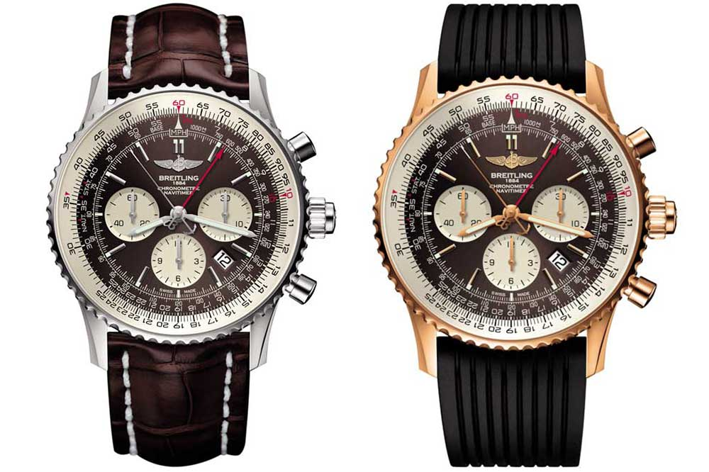 Breitling Navitimer Rattrapante dos versiones