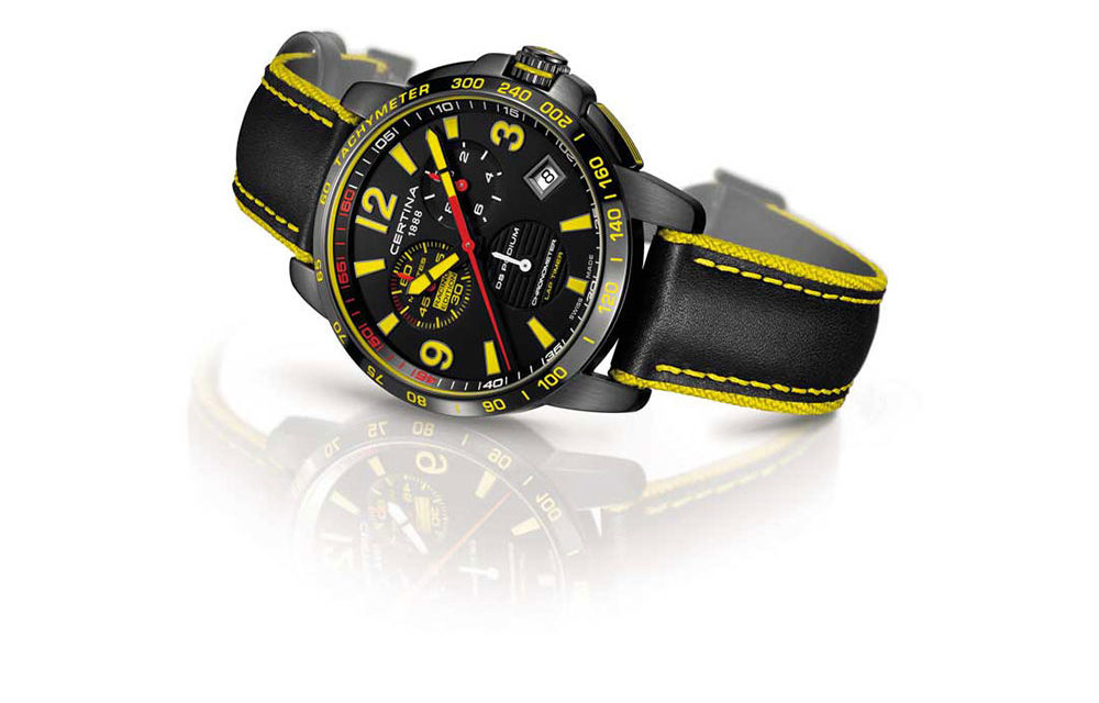 Baselworld 2017: Certina DS Podium Lap Timer Chronograph – Racing Edition