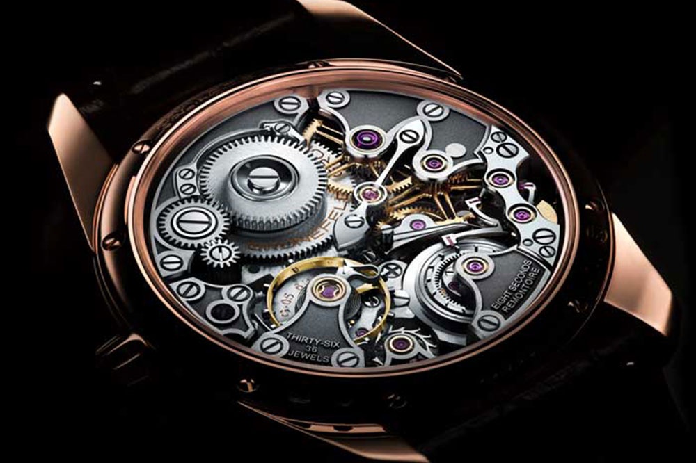Gronefeld 1941 Remontoire Constant Force Acero