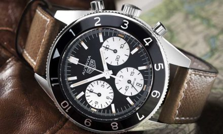 Baselworld 2017: TAG Heuer Autavia y Patrick Dempsey