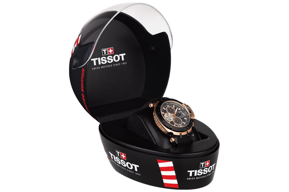 Tissot T-Race MotoGP Automatic Edicion limitada 2017 estuche de entrega