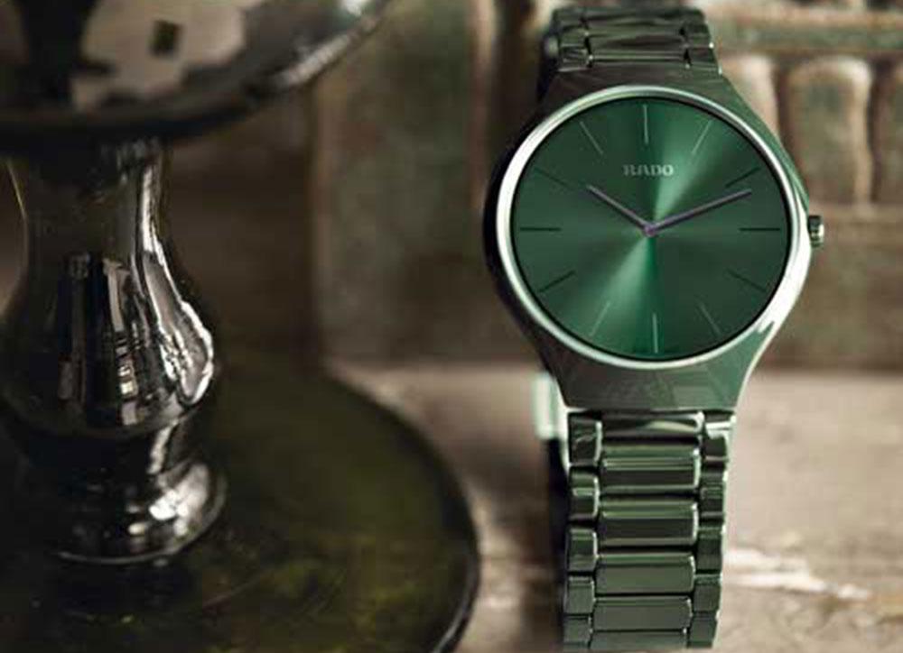 RADO True Thinline Colours Bosque Verde
