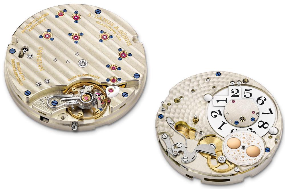 A. Lange & Söhne Little Lange 1 Moon Phase mecanismo