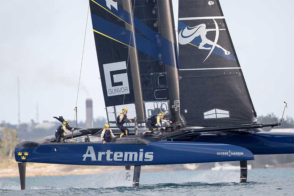 Equipo Artemis Racing y Ulysse Nardin