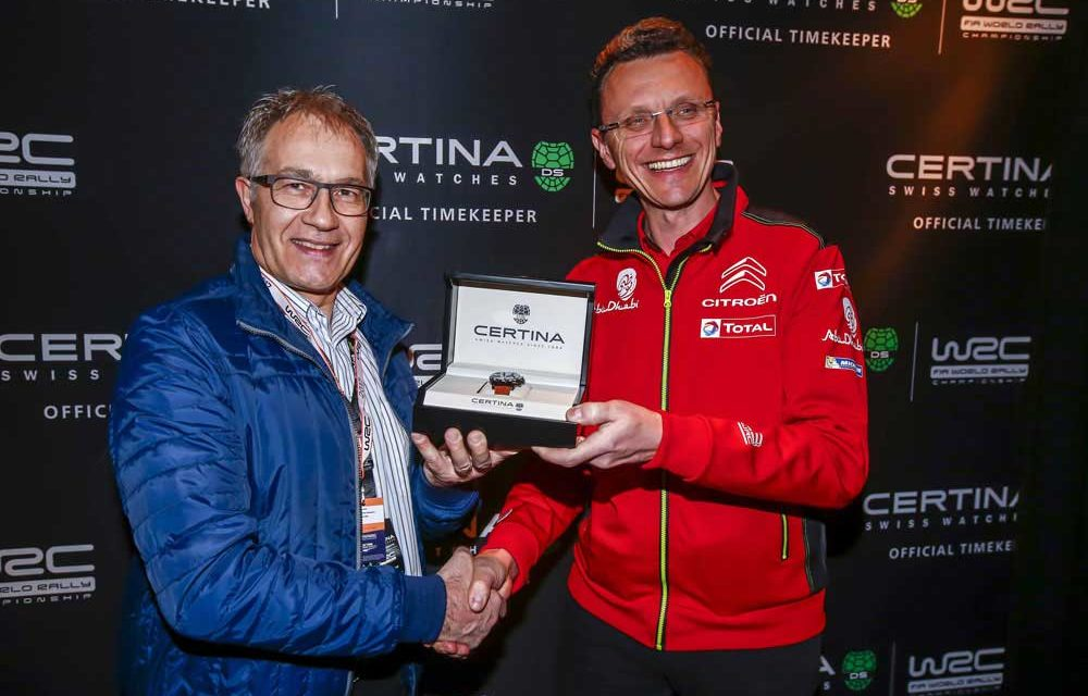 Certina y Citroën Racing, tercera temporada de Rally juntos