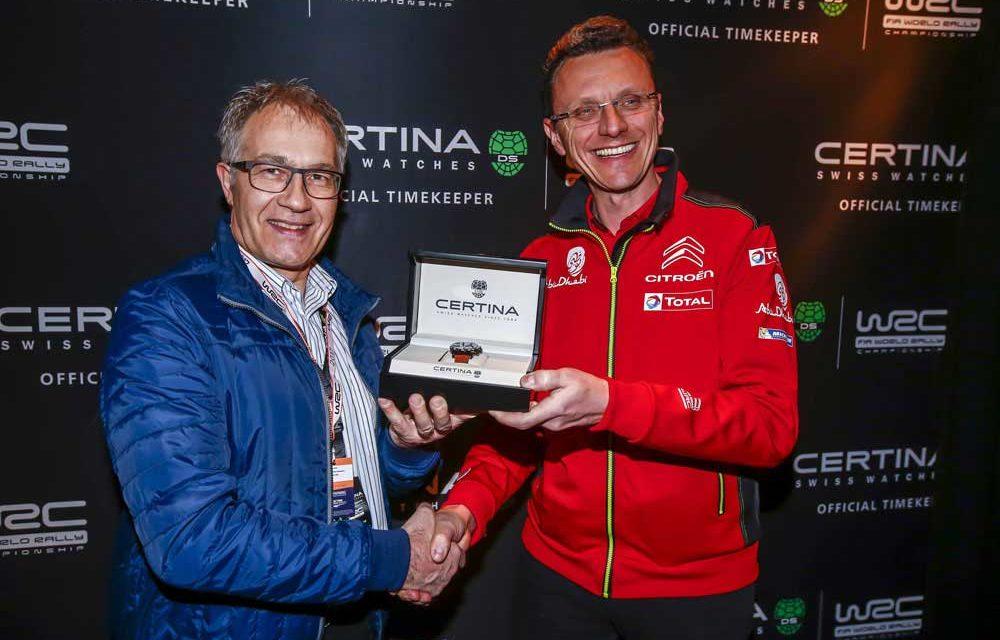 Certina y Citroën Racing, tercera temporada de Rally juntos