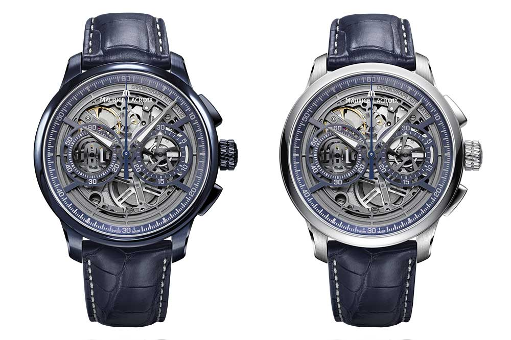 Maurice Lacroix Masterpiece Chronograph Skeleton versiones
