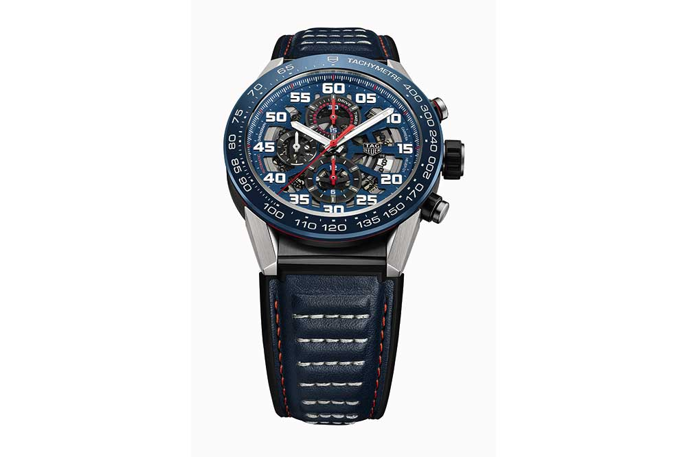 TAG Heuer Carrera Heuer-01 Red Bull Racing vista frontal