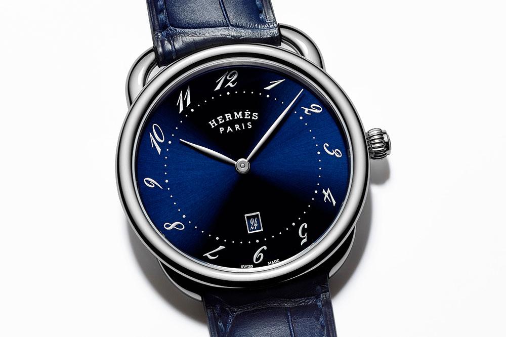 Hermès Arceau Très Grand Modèle Azul detalles