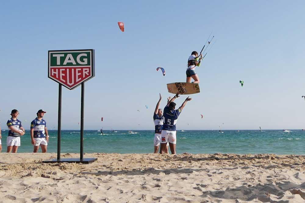 TAG Heuer, Gisela Pulido y VRAC kitesurf