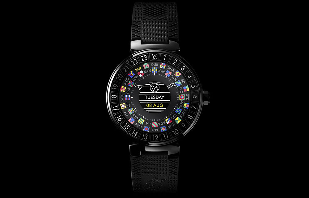 Louis Vuitton lanza un exclusivo smartwatch para viajeros