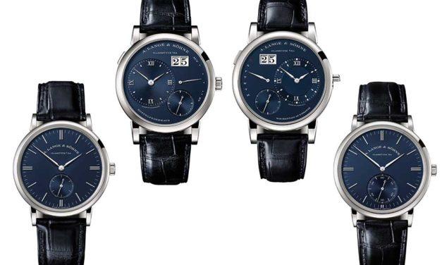 La serie azul de A. Lange & Söhne
