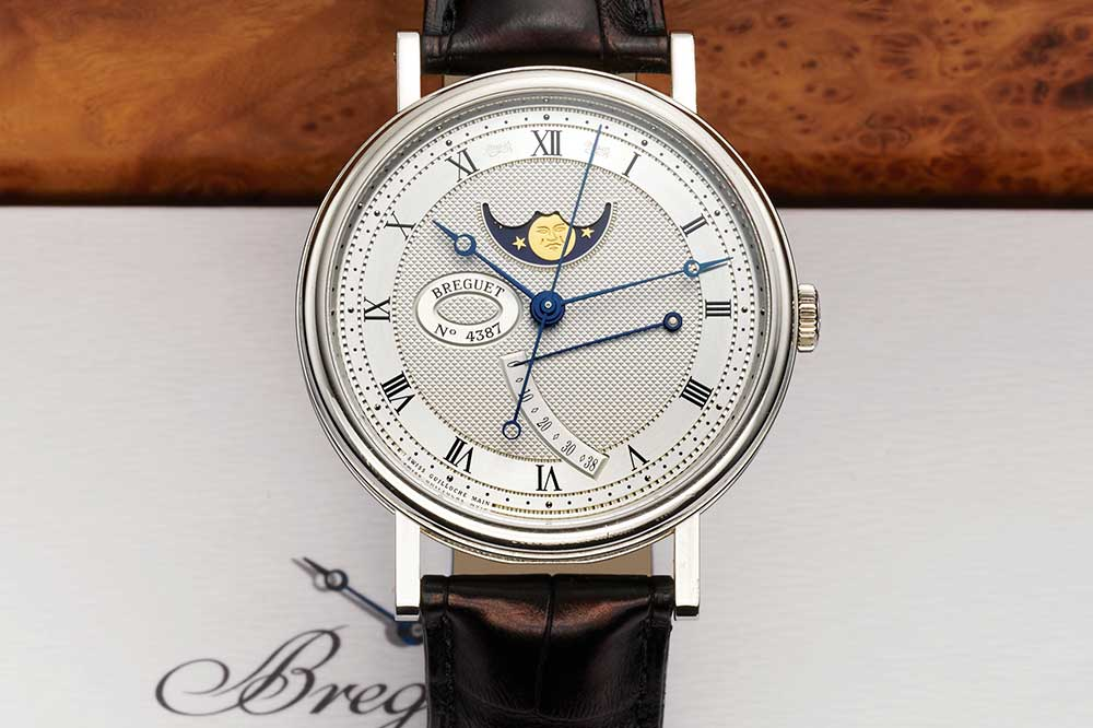 Breguet Ref 7787 Automatic Power Reserve Moon Phases