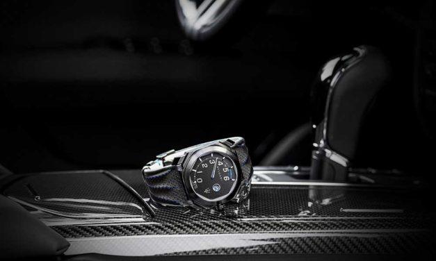 Bvlgari presenta un nuevo reloj con Maserati