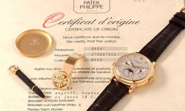Invertir en relojes