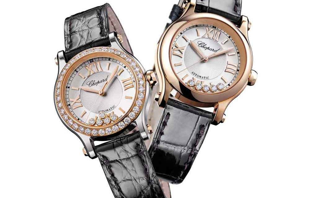 Chopard Happy Diamonds. Juego en suspensión