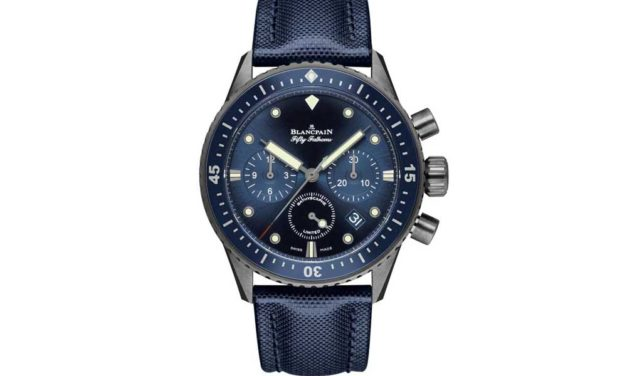 Blancpain Fifty Fathoms. Aventura oceánica