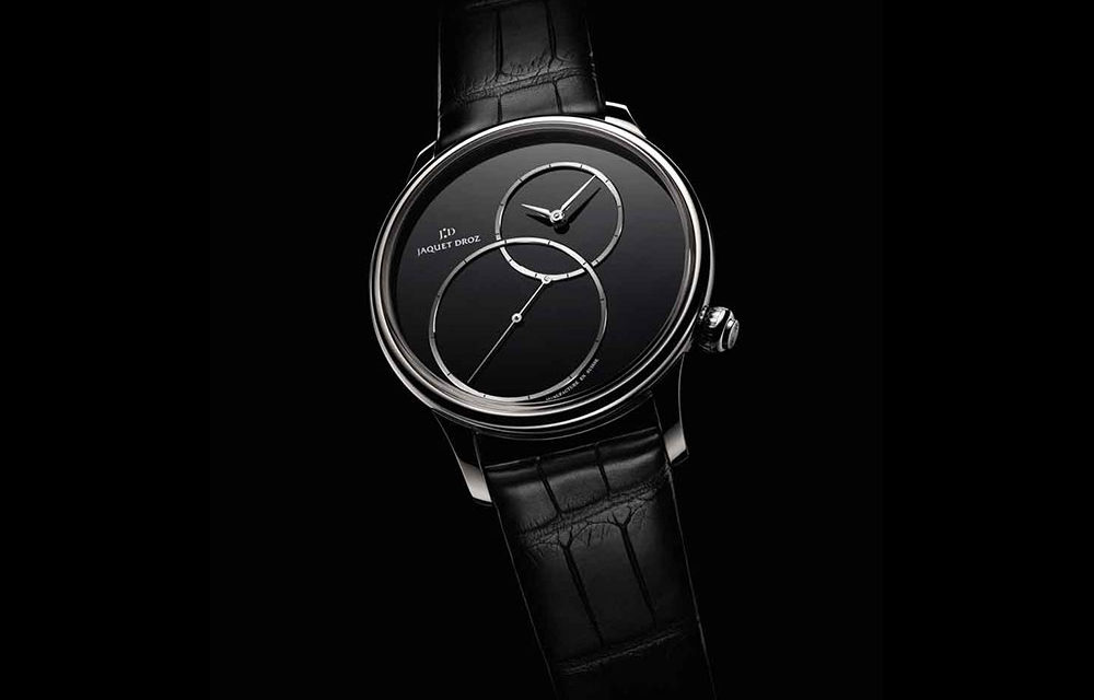 Baselworld 2016: Jaquet Droz Grande Seconde Off-Centered Onyx