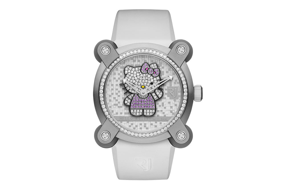 Romain Jerome RJ X Hello Kitty Full Sparkle