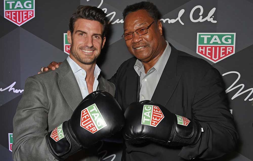 TAG Heuer rinde tributo a Muhammad Ali