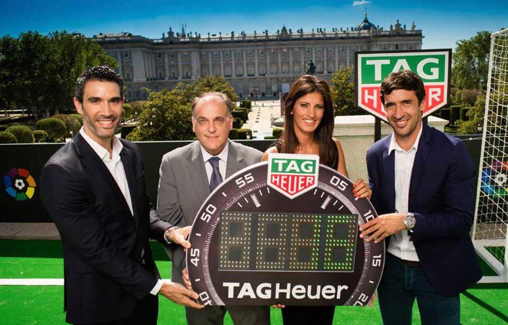 TAG Heuer, patrocinador y cronometrador oficial de LaLiga
