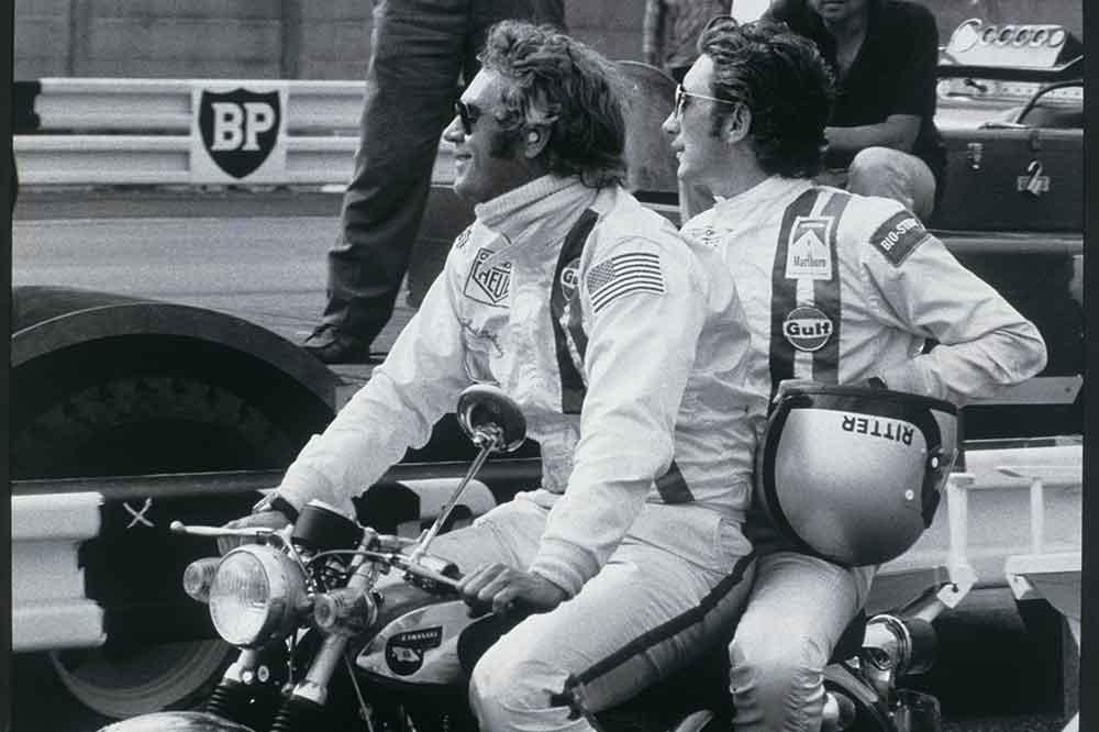 Steve McQueen y Jo Siffert