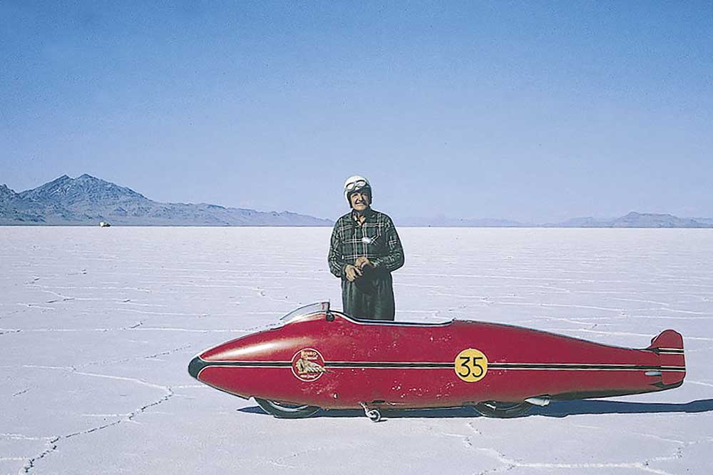 Burt Munro, 1962, Shell original