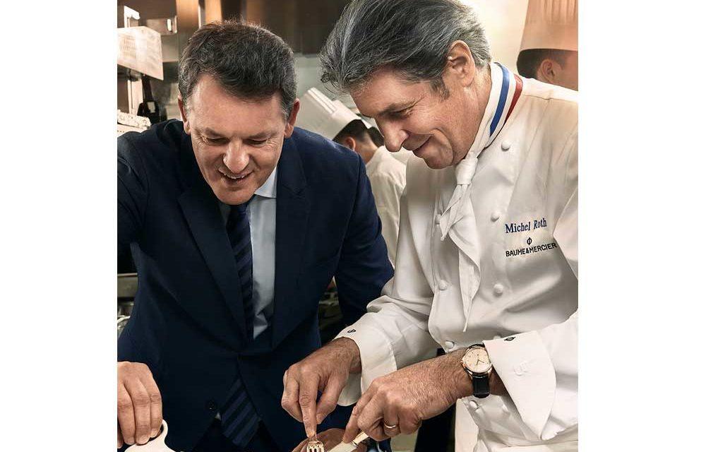 Baume & Mercier se asocia con un chef Estrella Michelin
