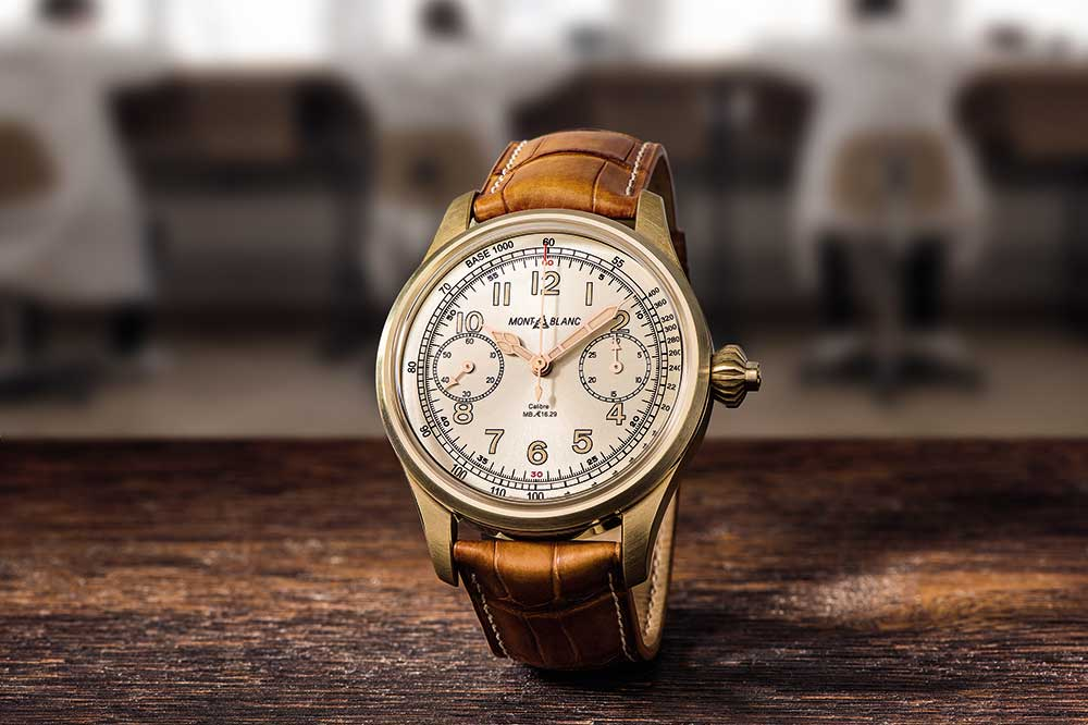 Montblanc 1958 Chronometer Tachymeter Bronze Limited Edition