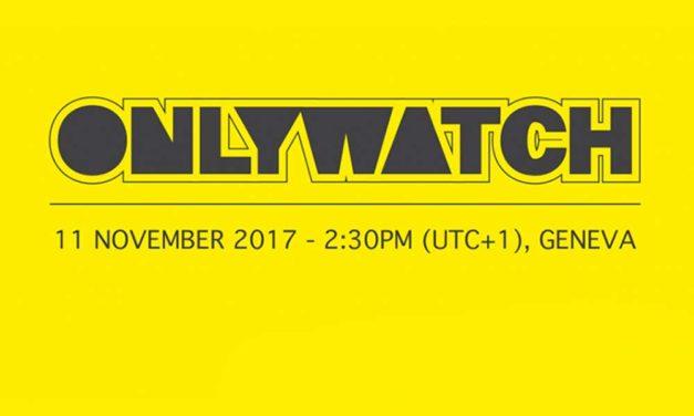 Tiempo de solidaridad Only Watch 2017