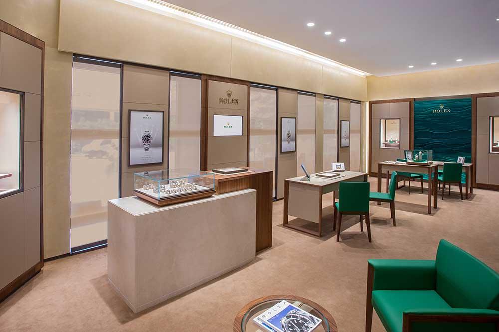 Espacio Rolex en Perodri Madrid, detalles