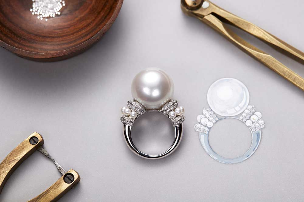 Boucheron Colección Imperial Invierno 2017, anillo Perle Imperiale