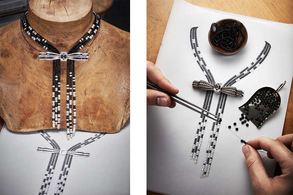 Boucheron Colección Imperial Invierno 2017, collar Grand Nord
