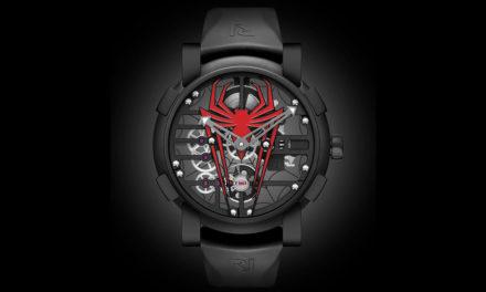 Romain Jerome diseña junto a Marvel el reloj de Spider-Man