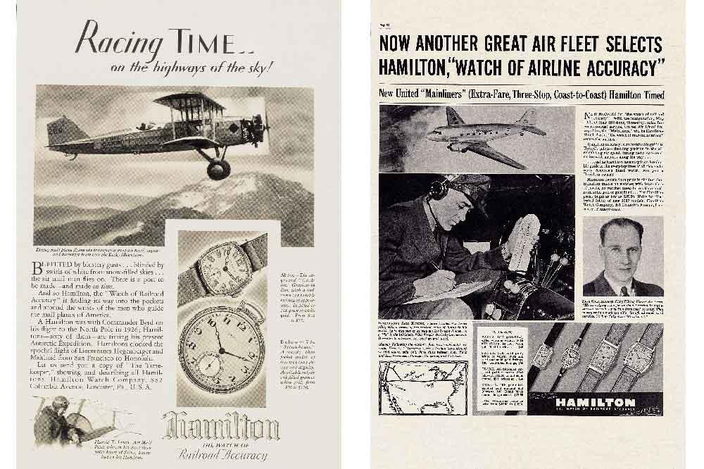 Hamilton y la Aviación, noticias