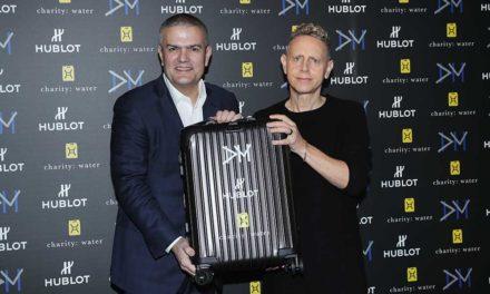 Hublot, Rimowa y Depeche Mode con charity: water