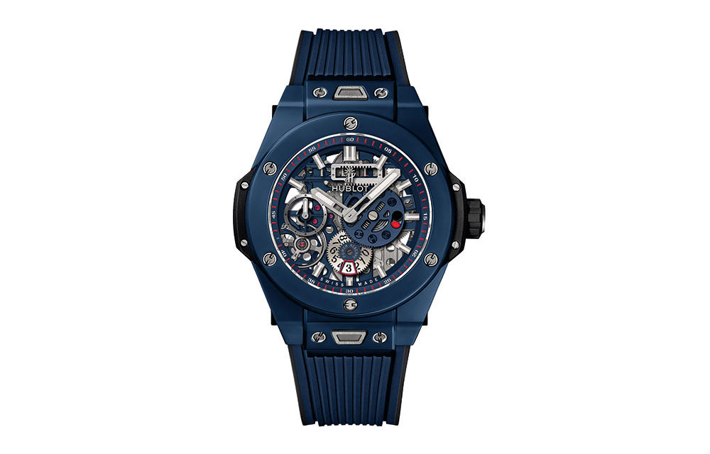 Baselworld 2018: Hublot Big Bang Meca-10 Blue Ceramic