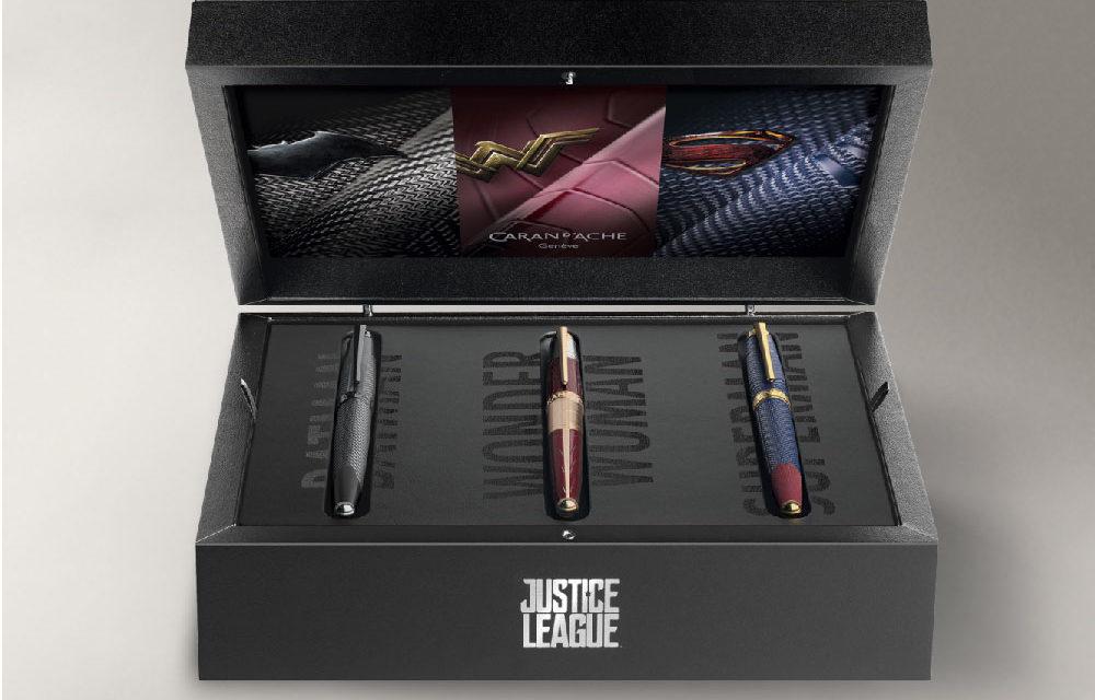 Caran d'Ache Justice League Trinity