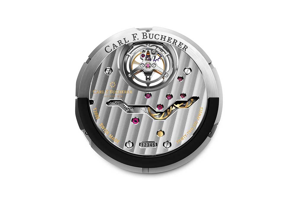 Carl F. Bucherer Manero Tourbillon Double Peripheral calibre CFB T3000