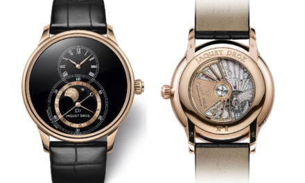 Baselworld 2018: Jaquet Droz Grande Seconde Moon Black Enamel