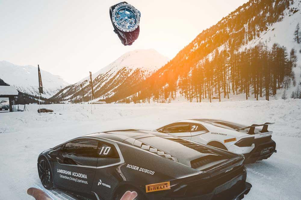 Winter Accademia de Lamborghini