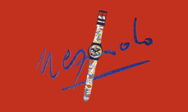 Swatch colabora con Ugo Nespolo para celebrar su 35º aniversario.