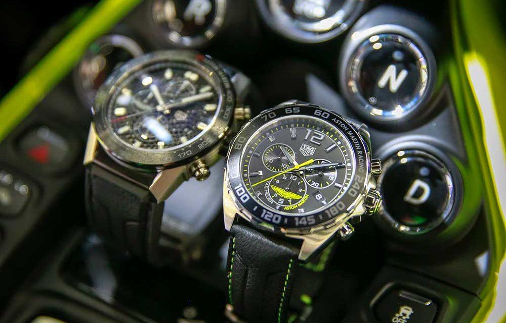 Los nuevos cronógrafos de TAG Heuer y Aston Martin ya están aquí | Relojes  tendencia