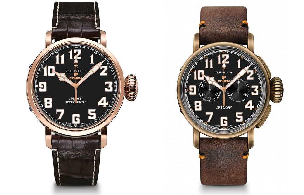 Zenith celebra el 50º aniversario de Cohiba con dos nuevos relojes