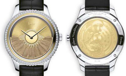 Dior Grand Bal Plume d'Or, el sofisticado arte relojero de Dior