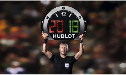 Hublot con el Mundial de Fútbol de Rusia