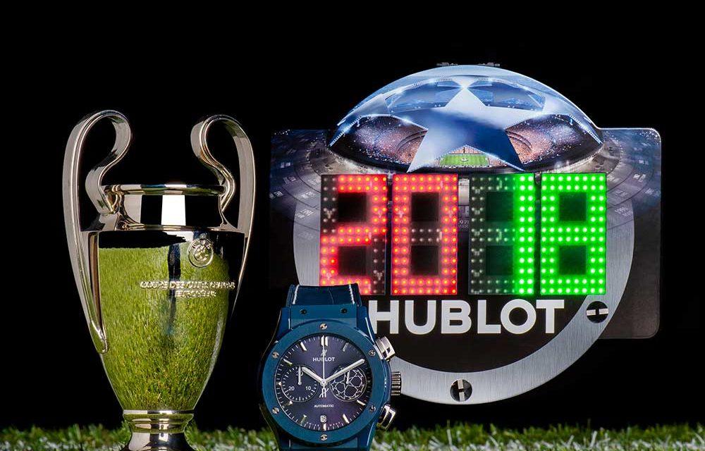 Hublot y Pele presentan el Classic Fusion Chronograph UEFA Champions League