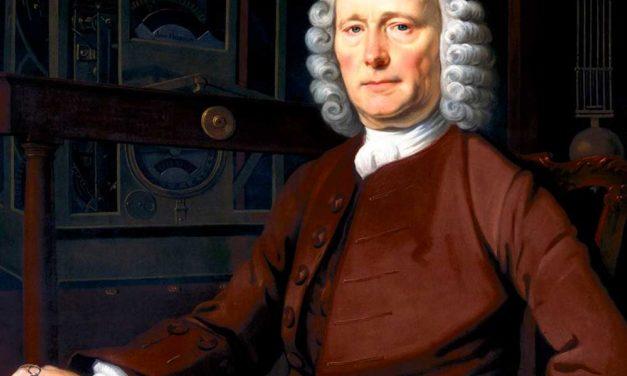 Homenaje a John Harrison, inventor del cronómetro de marina