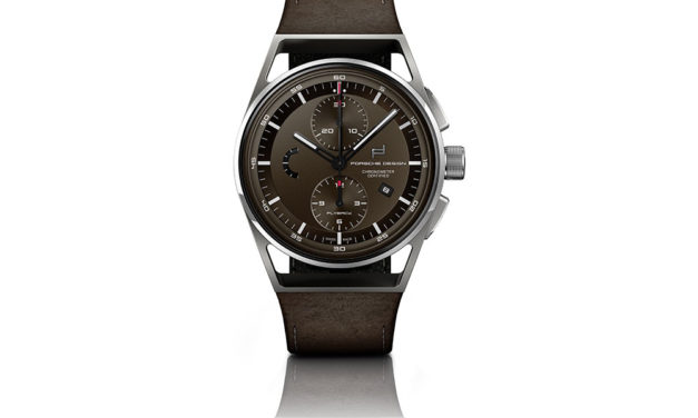 Baselworld 2018: Porsche Design 1919 Chronotimer Flyback Brown & Leather