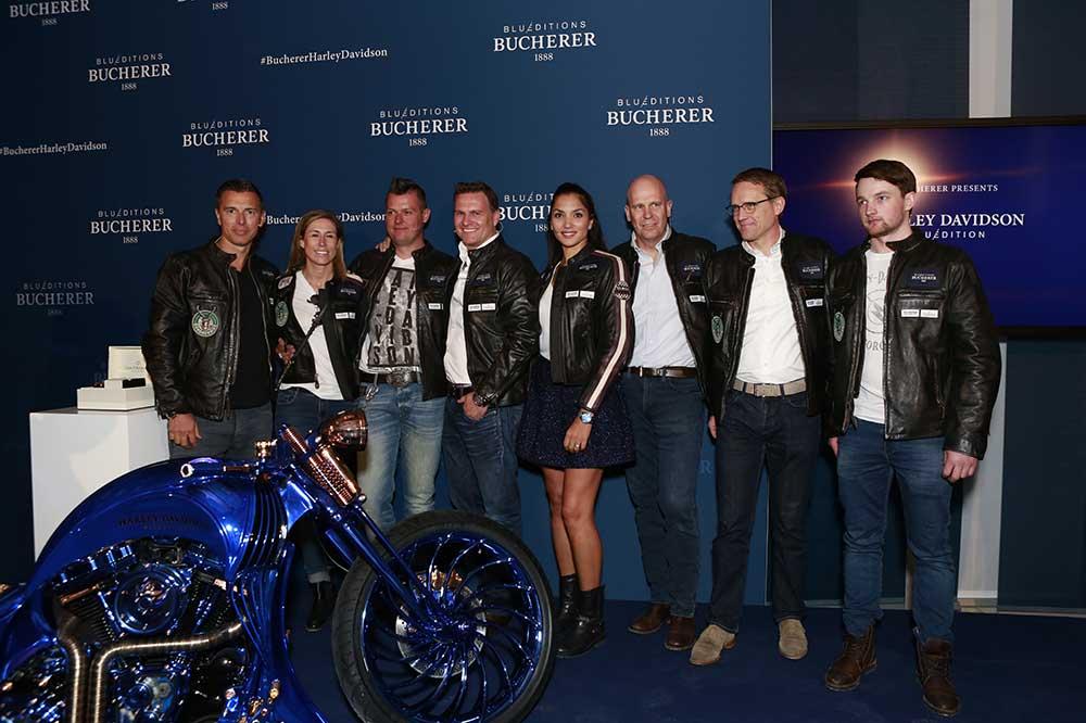 Presentación Harley-Davidson Blue Edition
